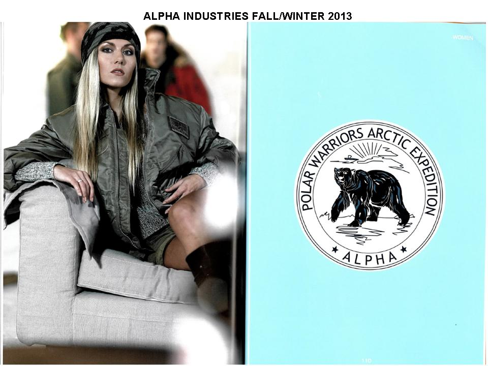 ALPHA INDUSTRIES FALL2