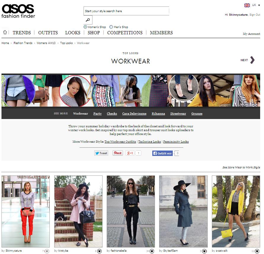 workwear asos