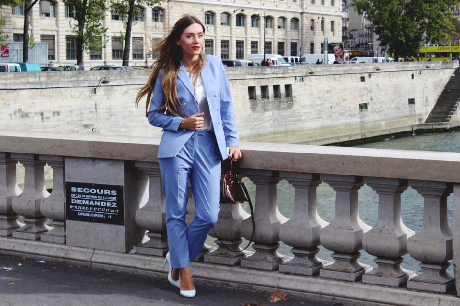 2024512087359 Being in Paris, I wanted to give you guys a glimpse at what was my  favourite outfit of this Paris Fashion Week – my very new customized suit.